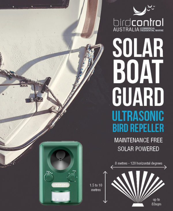 Solar Boat Guard Picture of label