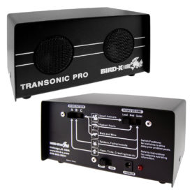 Front and back of transonic pro